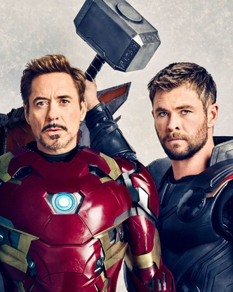 Iron Man Woth Thor Wallpapers Hd Photo