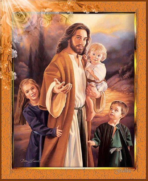 Jesus Full Hd Wallpaper With Baby Photos