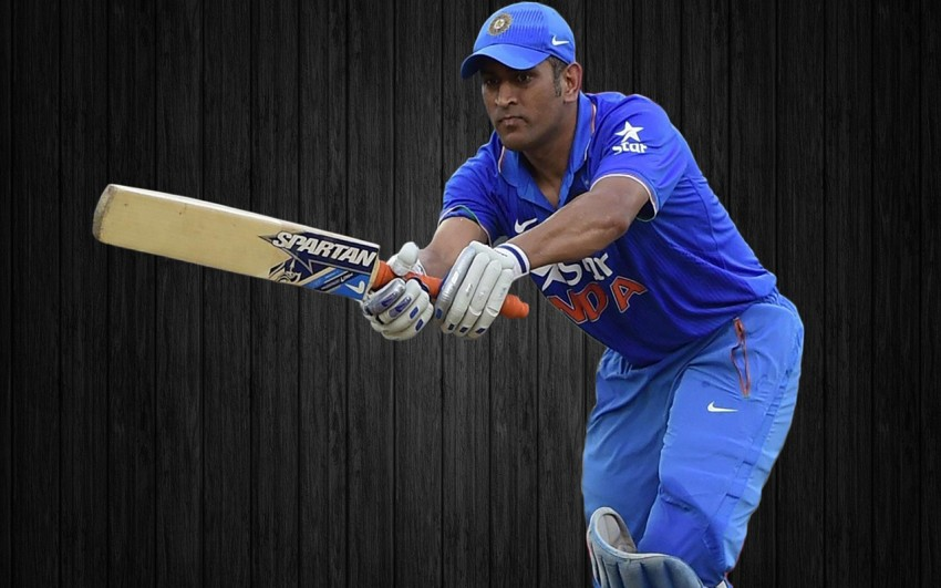 MS Dhoni Batting Wallpapers Photos Images
