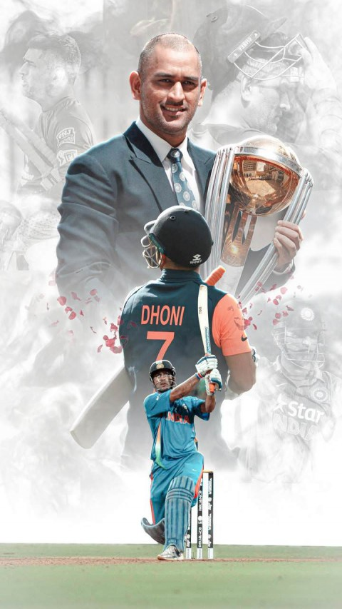MS Dhoni Wallpapers For Lock Screen